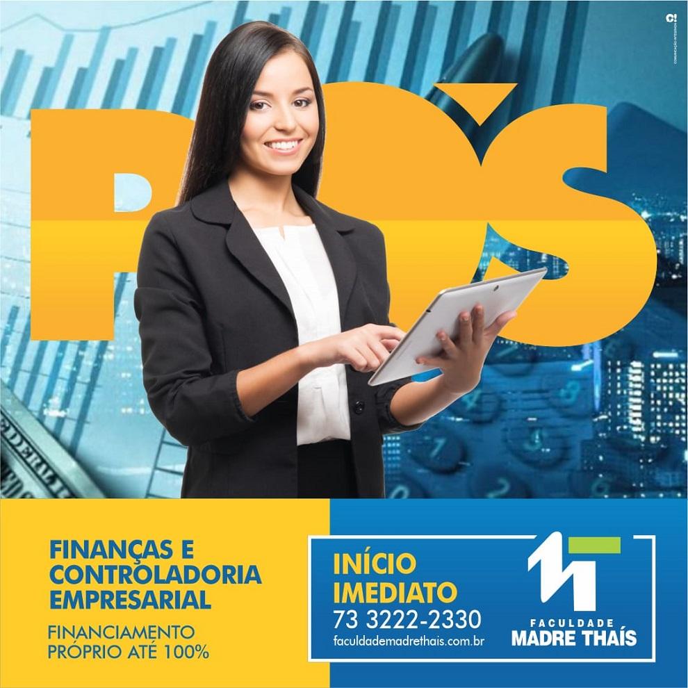 Faculdade Madre Thaís oferece pós em Finanças e Controladoria Empresarial
