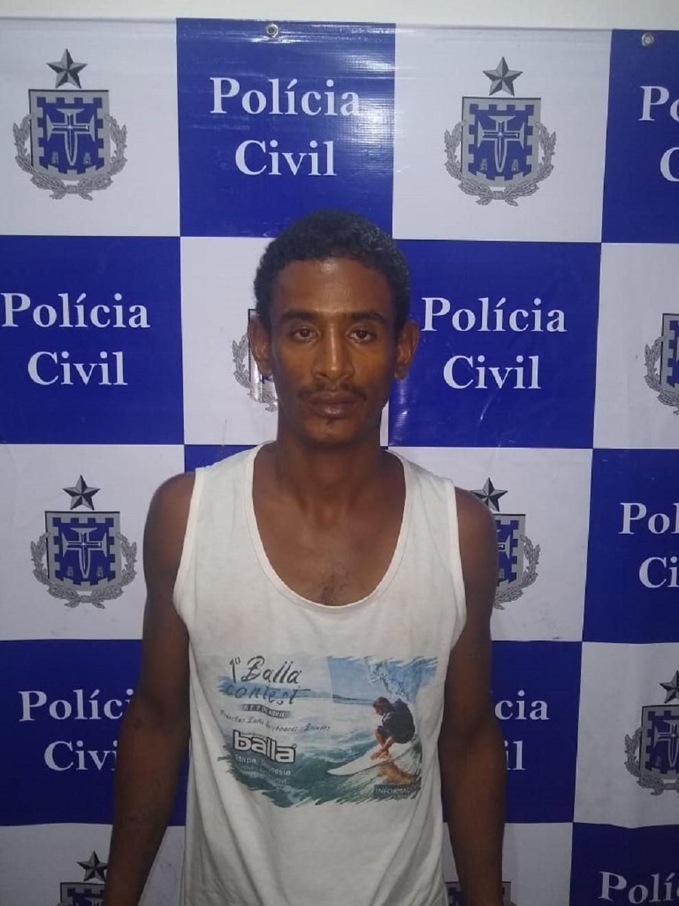 Polícia Civil prende autor do homicídio na praia do Malhado