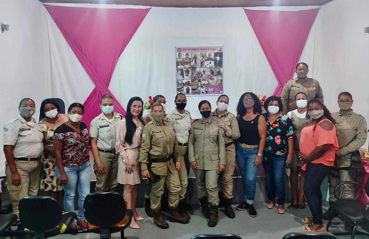 70ª CIPM realiza palestra da campanha Outubro Rosa